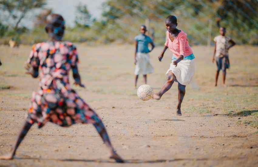 Culture stops girls in chase for glory