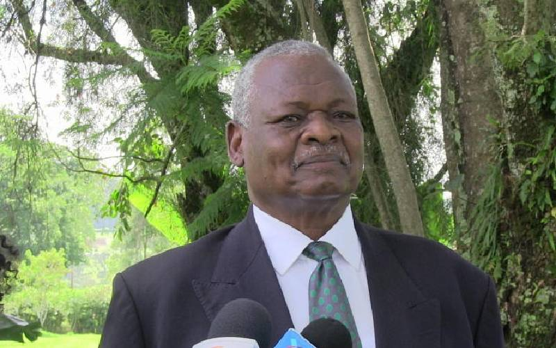 Curtain falls for retired Army General John Koech