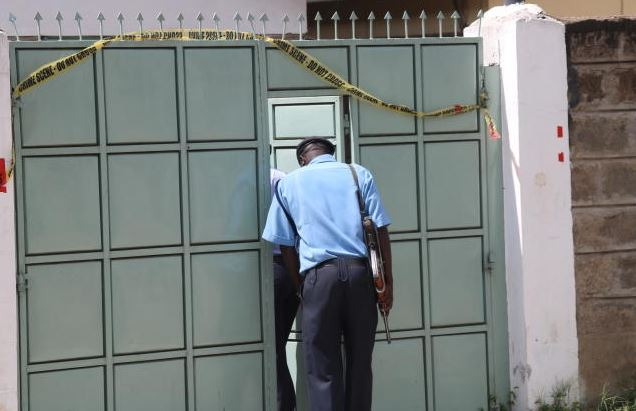 Police revisit Kenei's house