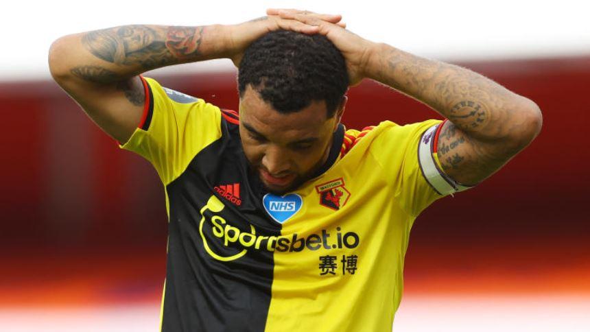 Deeney fails to rule out leaving Watford after relegation heartbreak