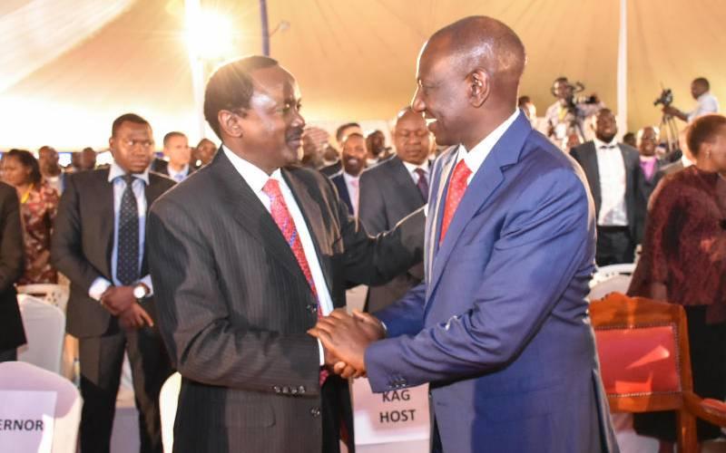 Defeating DP Ruto my priority – Kalonzo