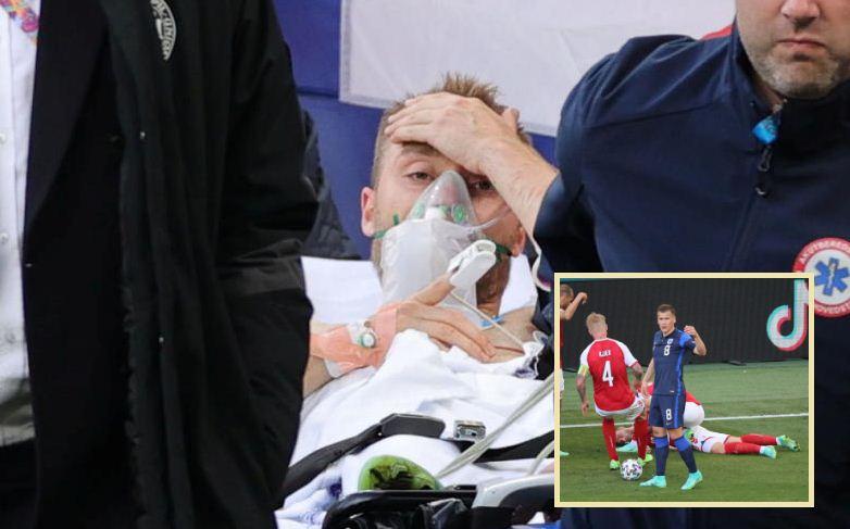 Denmark's Eriksen 'awake' after collapsing during Euro 2020 match