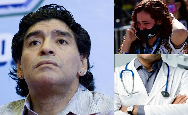 Diego Maradona's doctor investigated for involuntary manslaughter