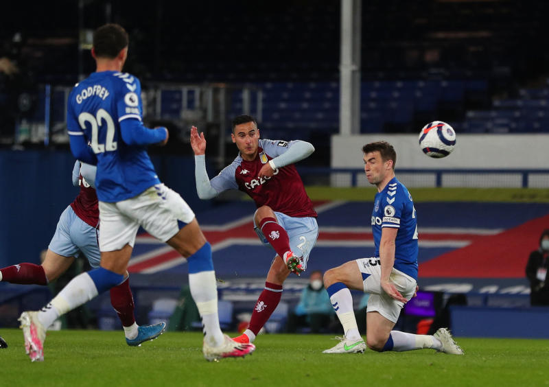 El Ghazi stunner gives Villa 2-1 win at Everton