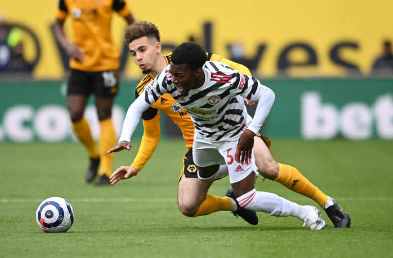 Elanga strikes as second-string Man United side beat Wolves