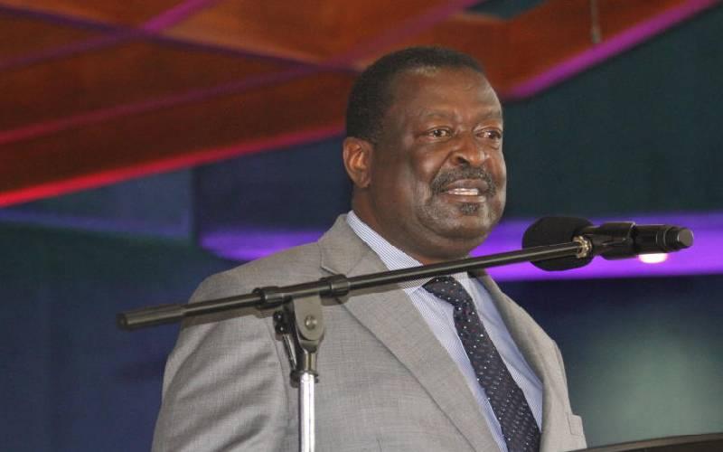 Embrace national unity, Musalia tells Kenyans
