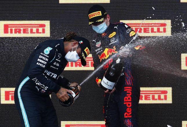 Emilia Romagna Grand Prix: Lewis Hamilton beaten at Imola