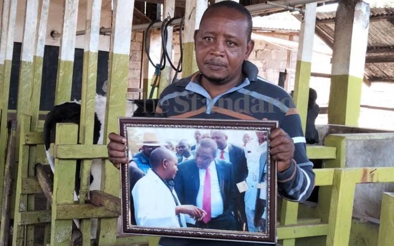 Farmer who sold Sh1 million bull to Uhuru quits dairy farming
