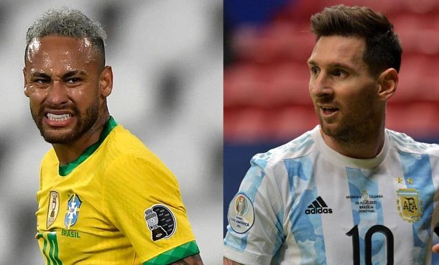 Forget the Euros, Argentina v Brazil is tonight's big match at 3 am Kenyan-Time