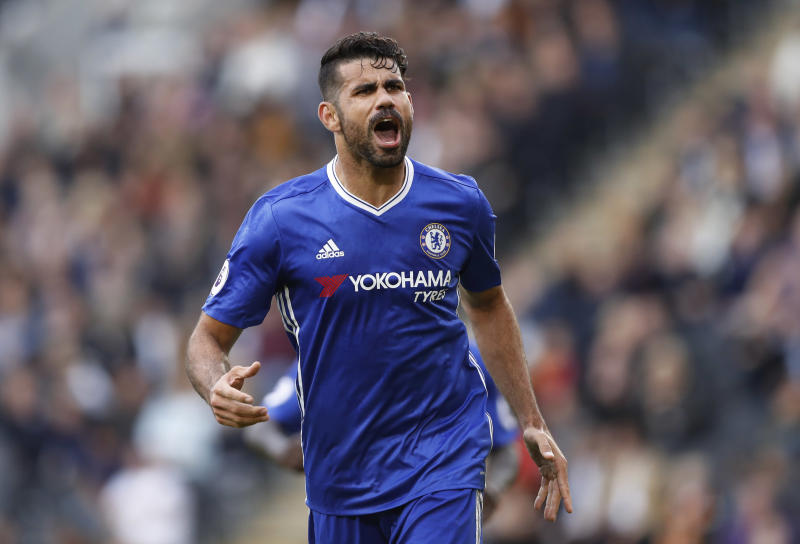 Former Atletico Madrid and Chelsea striker Costa signs for Brazilian club Atletico