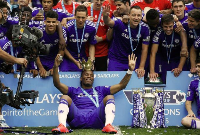 Former Chelsea's Drogba submits candidacy to become FA president