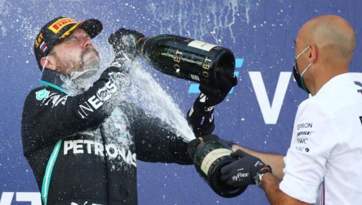 Formula One: Triumphant Bottas tells his critics to get lost