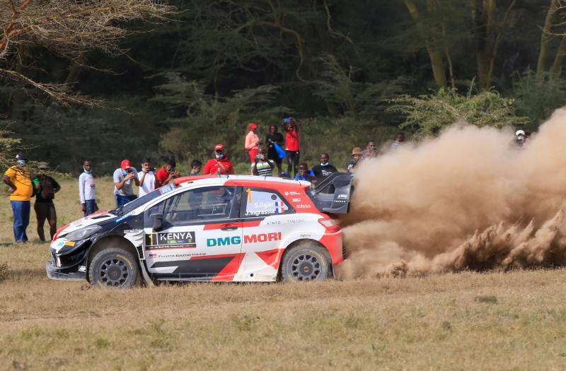 French driver Sebastien Ogier wins the WRC Safari Rally Kenya 2021
