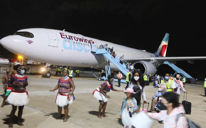 German airline defies virus to start Mombasa flights