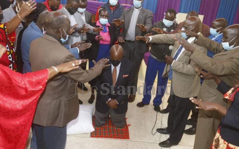 Gideon Moi's 2022 bid gets clerics, elders blessing