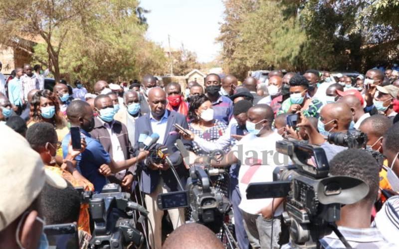 Gideon allays fears of OKA leaders' fallout