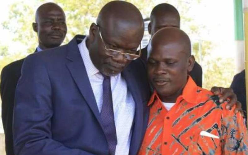 Governor Rasanga, Oduol set to renew political rivalry