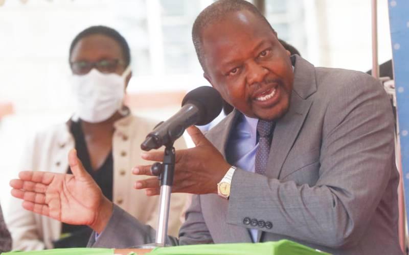 Graft claims take the shine off CS Kagwe's novelty