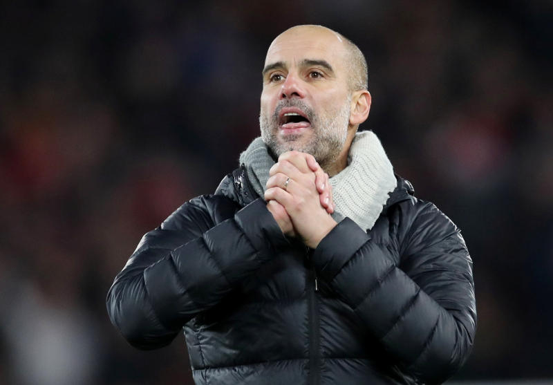 Guardiola confident Man City's UEFA ban will be overturned