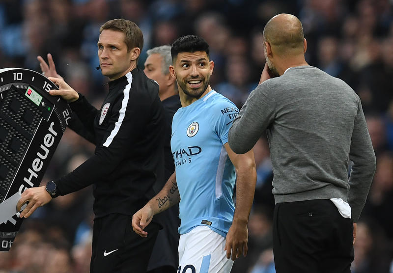 Guardiola gives Aguero his transfer blessing to join Man City rivals