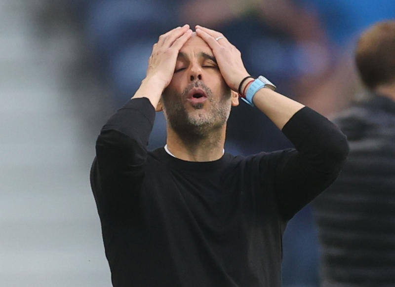 Guardiola's 'tinkering' raises questions once again