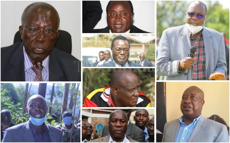 Gusii old guard not prepared to step aside for up-and-coming politicians