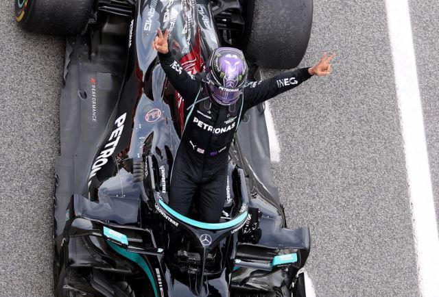 Hamilton takes fifth Spanish Grand Prix win in a row