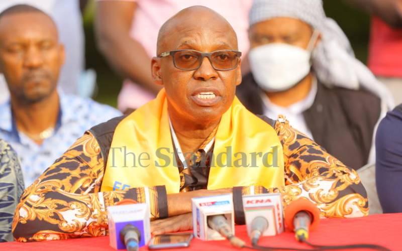 Handshake a burden to ODM, says Wanjigi