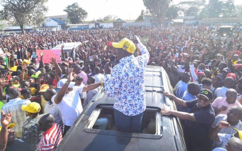 Is DP Ruto an unassailable frontrunner or mere pacesetter?