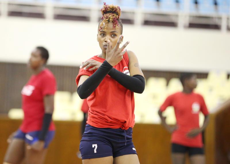 It has not always been rosy for Malkia Strikers star Wanja