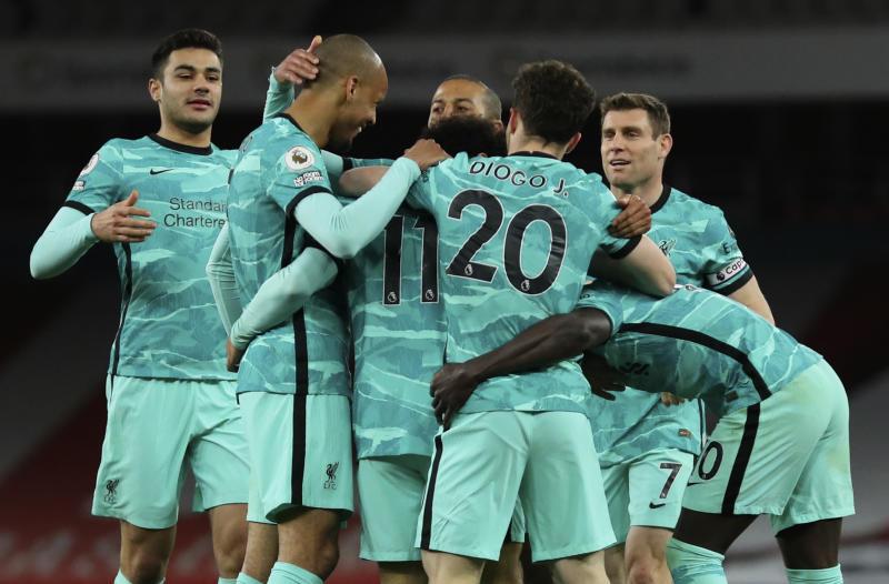 Jota brace helps Liverpool romp to win at Arsenal
