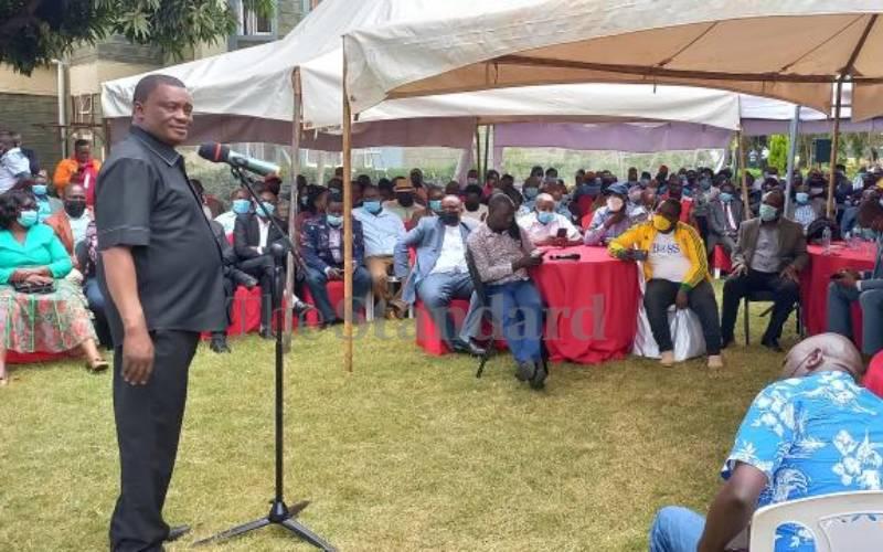 Justin Muturi warns state agencies against intimidation of leaders