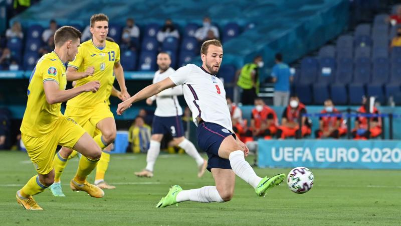 Kane at the double as England cruise past Ukraine into Euro semis