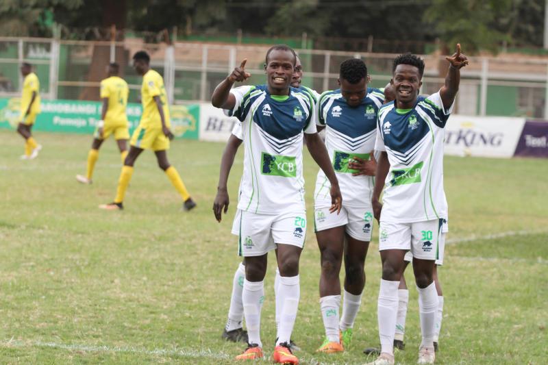 KCB maul Kariobangi Sharks to close gap on leaders Tusker