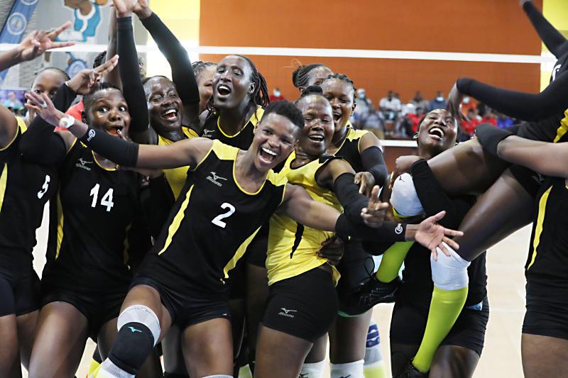 Kenya Prisons retain women volleyball crown