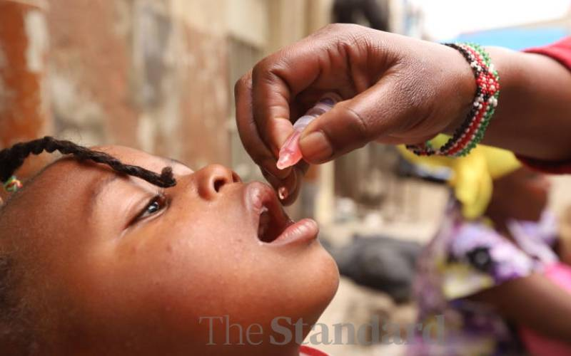 Kenya rolls out new polio vaccine amid new cases
