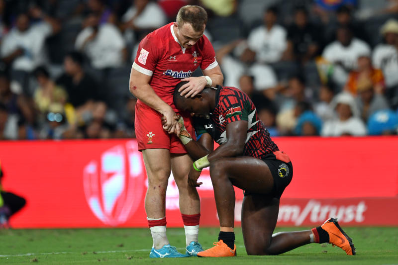 Kenya Sevens thump USA but fall to Argentina in Madrid