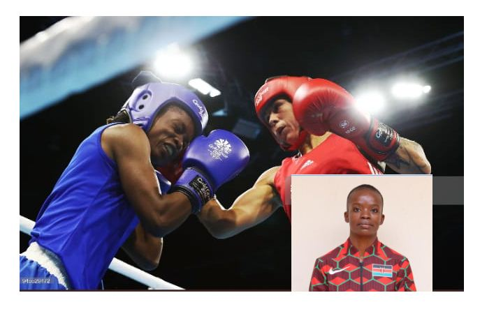 Kenyan boxer Christine Ongare speaks after Olympics exit