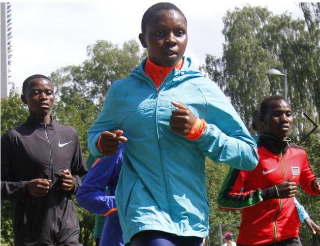 Kenya's Jemutai eyes glory at global show