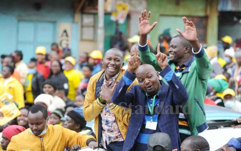 Kiambaa by-election a Jubilee contest that showed democratic maturity