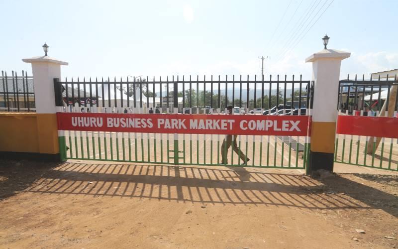 Kisumu traders relocated to new Uhuru business park complex