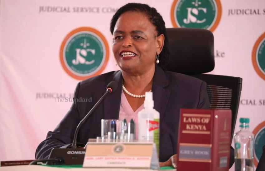 Koome vetting: Will MPs face up to Uhuru on appointment of 40 judges?