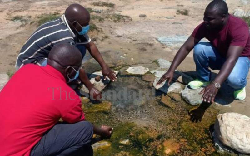 Kwale's hot springs are nature's wonder for locals and visitors