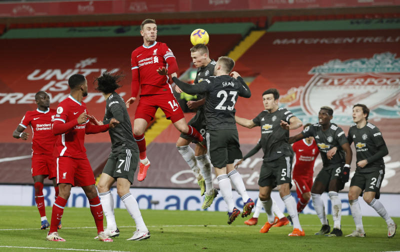 Liverpool held to goalless draw by United