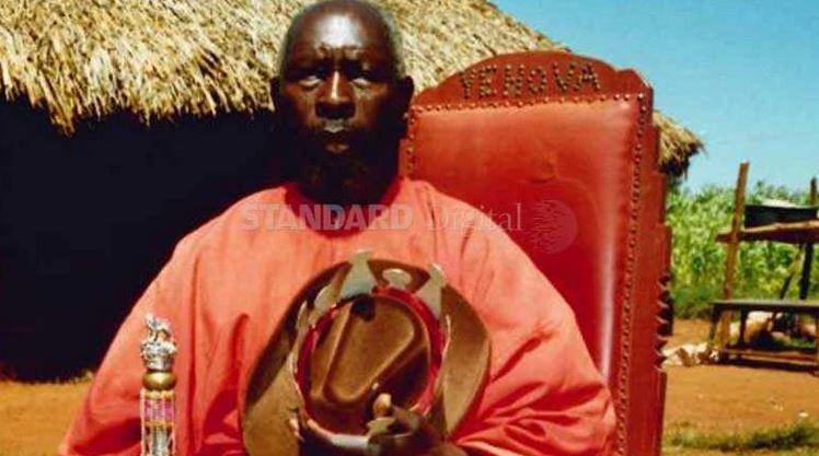 Luhya spiritual leaders who believe they are Jesus Christ