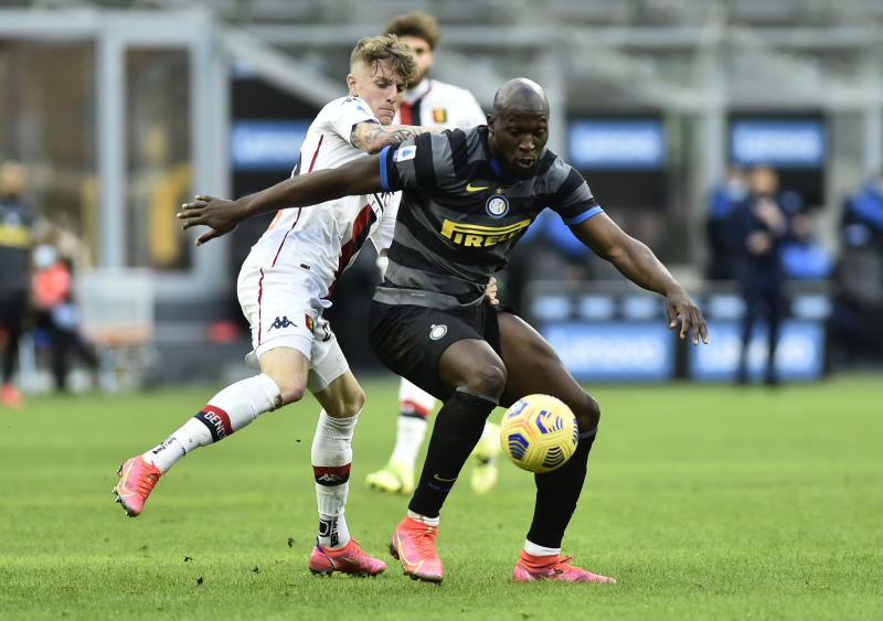 Lukaku takes seconds to score as Inter extend Serie A lead