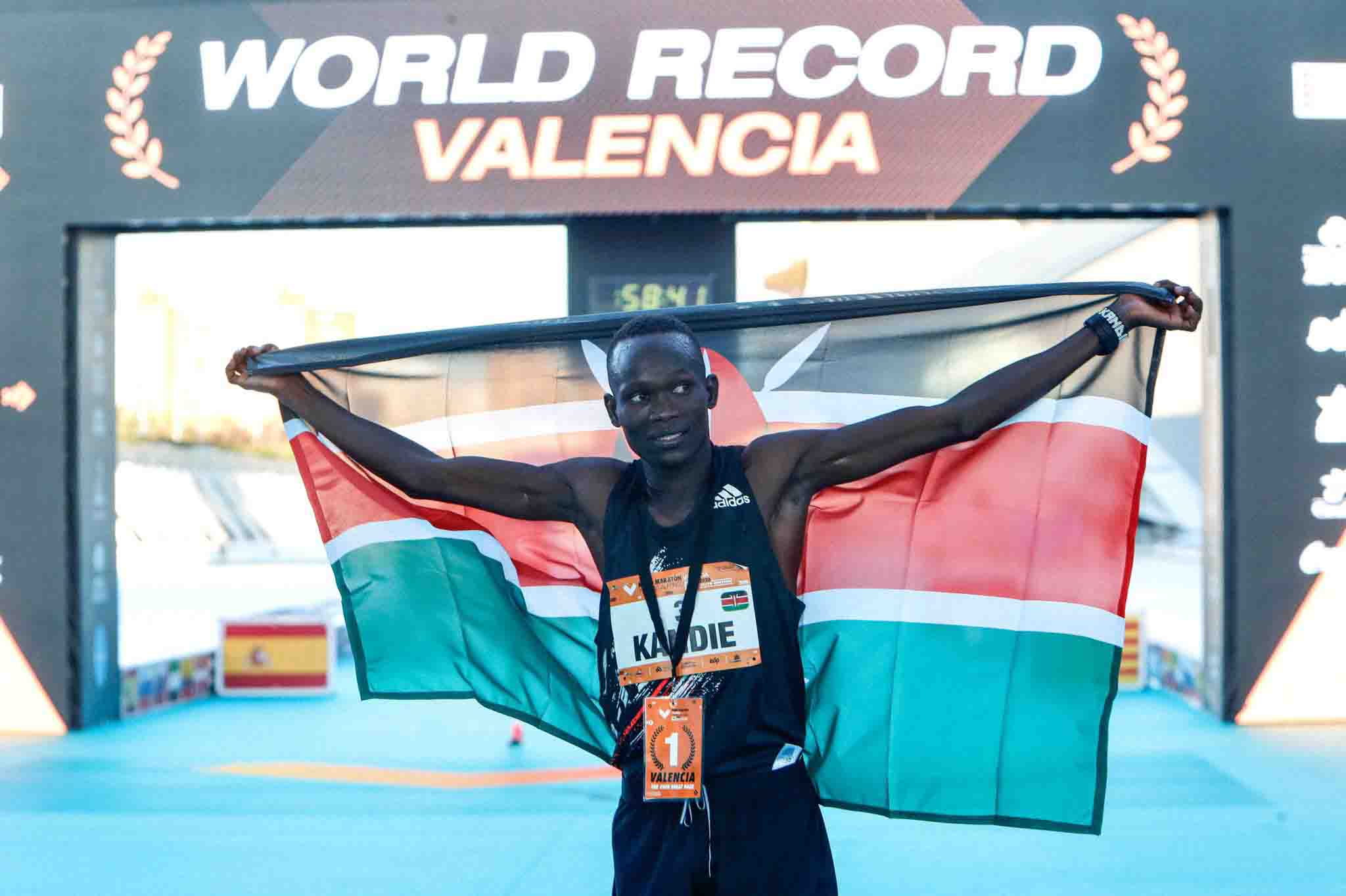 'Make little more room in the history books' – World reacts to Kibiwott Kandie's win in Valencia