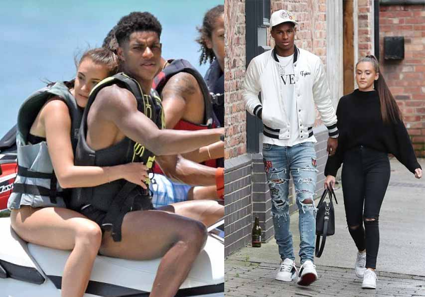 Marcus Rashford 'splits up with girlfriend Lucia Loi' after eight years