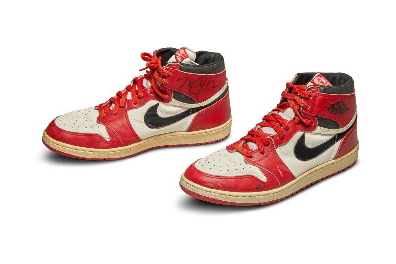 Michael Jordan's sneakers fetch record Sh59.4m