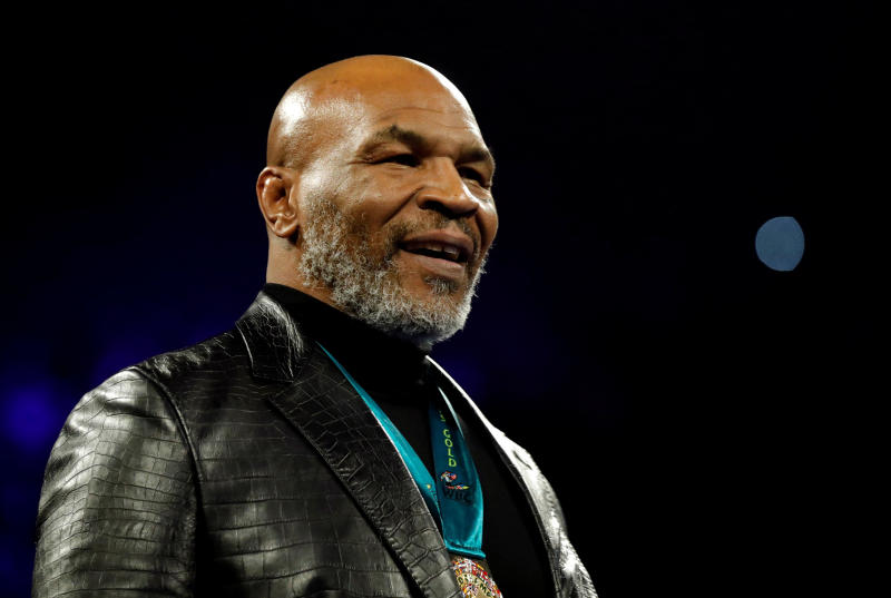 Mike Tyson breaks down following daughter's death in horrifying accident
